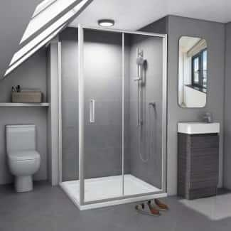 Shower Enclosure low height in loft space