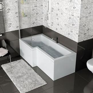 L shape P Shape Shower Bath quality design