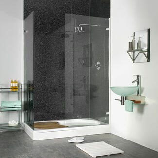 Water Proof wall panels inside a shower no tiles