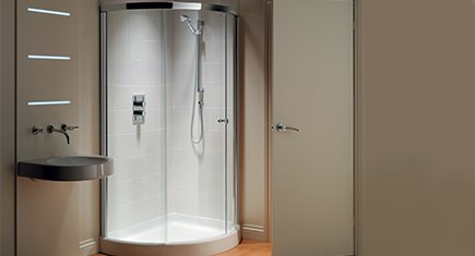 Shower enclosures all design styles