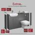 Infographic explaining addons for Oliver Fitted Furniture