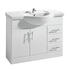New Ecco 1050 Basin Unit curved Fashionable and Stylish Bathroom Accessory