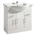 New Ecco 850 Basin Unit curved Amazing Value Bathroom