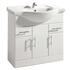 New Ecco 850 Basin Unit curved Amazing Value Bathroom