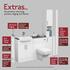 Infographic explaining addons for Oliver Fitted Furniture with Tallboy