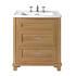 Thurlestone 2 Drawer Vanity Unit 1TH straight Stylish and Stylish Bathroom Accessory