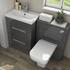 Patello 1200 Bathroom Furniture Set Grey - 174525