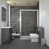 Patello Grey Sliding Door Shower suite - 174586