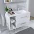 Small Wall Hung Vanity unit for small bathrooms