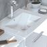 white bathroom suite 2 drawers