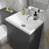 Close-up of Toilet Pan & Seat for Mercury 1200 Small Bathroom Suite
