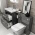 Patello 1400 Vanity Furniture Set Grey - 174746