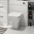 Patello 1600 Fitted Furniture Bathroom Vanity Set White - 174752
