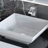 Sonix 1500 Glass Top Wall hung Vanity Unit Inc Counter Top Basins White - 174768