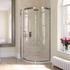Eauzone Curved Sliding Door Corner 900mm Designer Bathroom