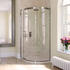 Eauzone Curved Sliding Door Corner 1500mm Fashionable Bathroom
