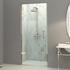 Eauzone Hinged Door from Wall For Recess 800mm Ellegant Stylish Bathroom Accessory
