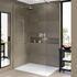Matki One Wet Room Shower Panel with Wall Brace Bar