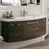 unique design 6001 Solitaire Bathroom Vanity Unit 2 Draw 2 Door 1290