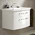 fashionable 6001 Solitaire Bathroom Vanity Unit 2 Drawers