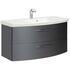 unique design Cassca Bathroom Vanity Unit 2 Drawer