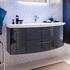 Cassca Bathroom Vanity Unit 2 Drawer 2 Door - 175429