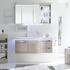 fashionable Contea Bathroom Wall Hung Vanity Unit 2 Doors 2 Drawers