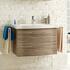 fashionable Solitaire 6005 Bathroom 2 Drawer Vanity Unit