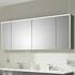 Solitaire 6010 Mirror cabinet inc LED light cornice and LED profile - 175535