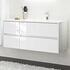 luxury quality  Solitaire 6010 1120 Bathroom Vanity Unit LH or RH 4 Drawer