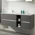 stylish  Solitaire 6010 1320 Bathroom Vanity Unit LH or RH with 4 Drawers and Shelf