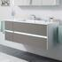 unique design Solitaire 6010 1320 Bathroom Vanity Unit LH or RH 4 Drawer