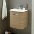 Solitaire 6900 440 Wall Hung Bathroom Vanity Unit 1 Door - 175558