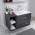 wall hung basin and cabinet