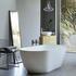 Formoso Grande Freestanding Clear Stone White Bath - 176441