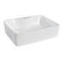 Rectangular 480mm Vessel Surface Mounted Wash Basin with One Tap Hole