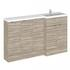 1500mm Combination Fitted Bathroom Furniture Set (Color Options) option 1 - 176586
