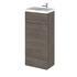 Combination Compact 400 Cloakroom Vanity Unit (Colour Options) - 176590
