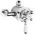 Chrome Victorian Thermo Dual Exposed Valve
