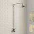 Traditional Shower Head and Shower Riser
