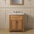 Traditional Designer Thurlestone Traditional 2 Door Bathroom Vanity Unit Solid Wood straight basin