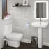 Daniel Small Bath Suite With Shower Screen - 177143