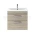 fashionable Atheana 600 Wall Hung 2-Draw Bathroom Vanity unit With Basin (colour options) with a range of colour options