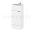 small quality 400mm Compact slimline Vanity Unit & Basin Cloakroom vanity