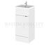 small quality 400mm Full Depth Vanity Unit & Basin Cloakroom vanity