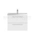 unique design Quartet large wall hung 2 draw bathroom vanity unit and basin