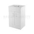 Traditional periodic Eden Floor Standing 500mm Cabinet straight basin