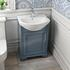 Old England 55 Dove Indigo Cloak room Bathroom Suite - 179001