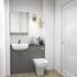 Oliver 1200 Fitted Cloakroom Suite - 179053