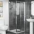 Radiant Reduced Height Shower Door Bifold 760